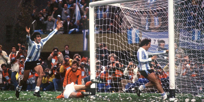 La Argentina de Kempes y Menotti que se alzó campeona del mundo en 1978.